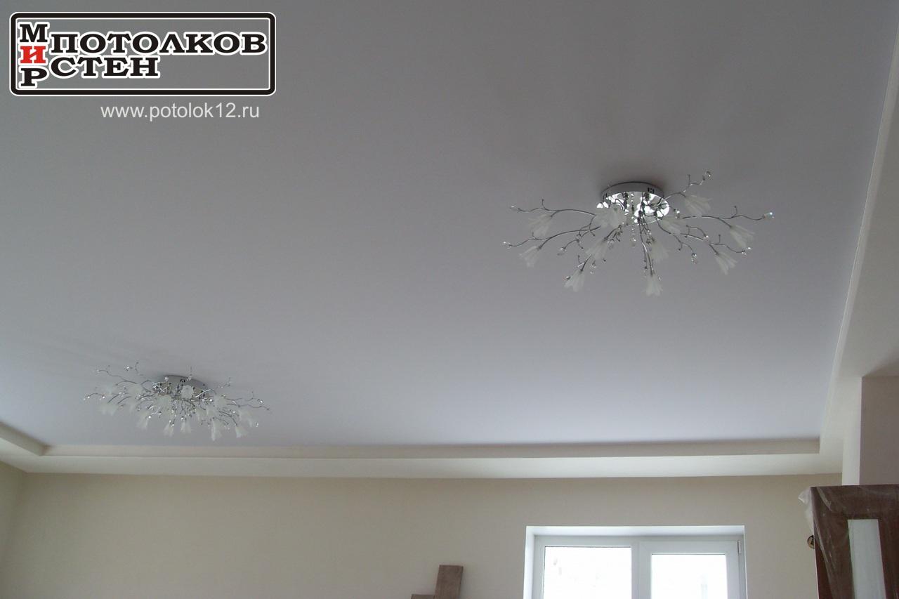 Люстра на потолке, Йошкар-Ола