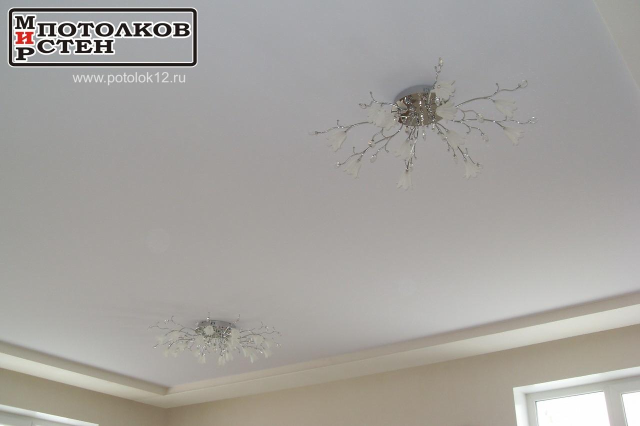 Люстры на потолке в Марий-Эл