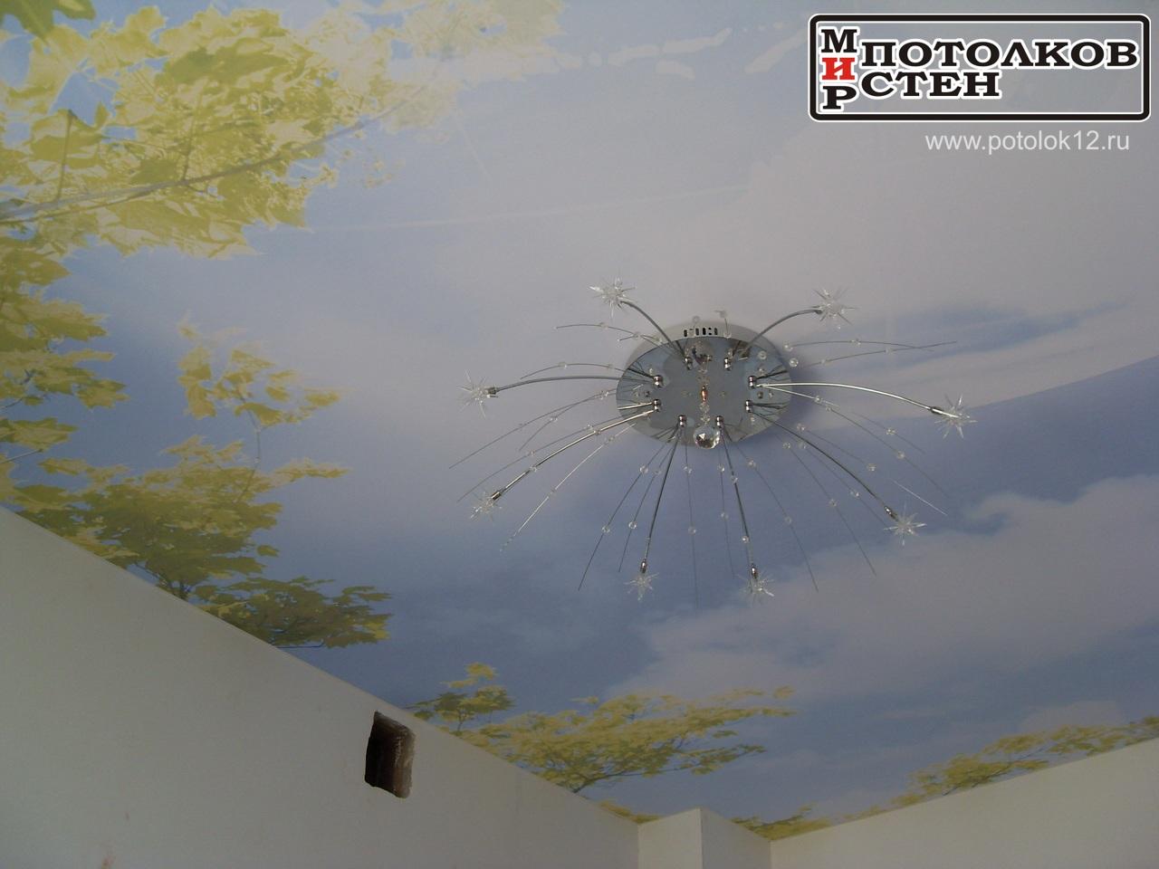 потолок Йошкар-Ола, фотопечать