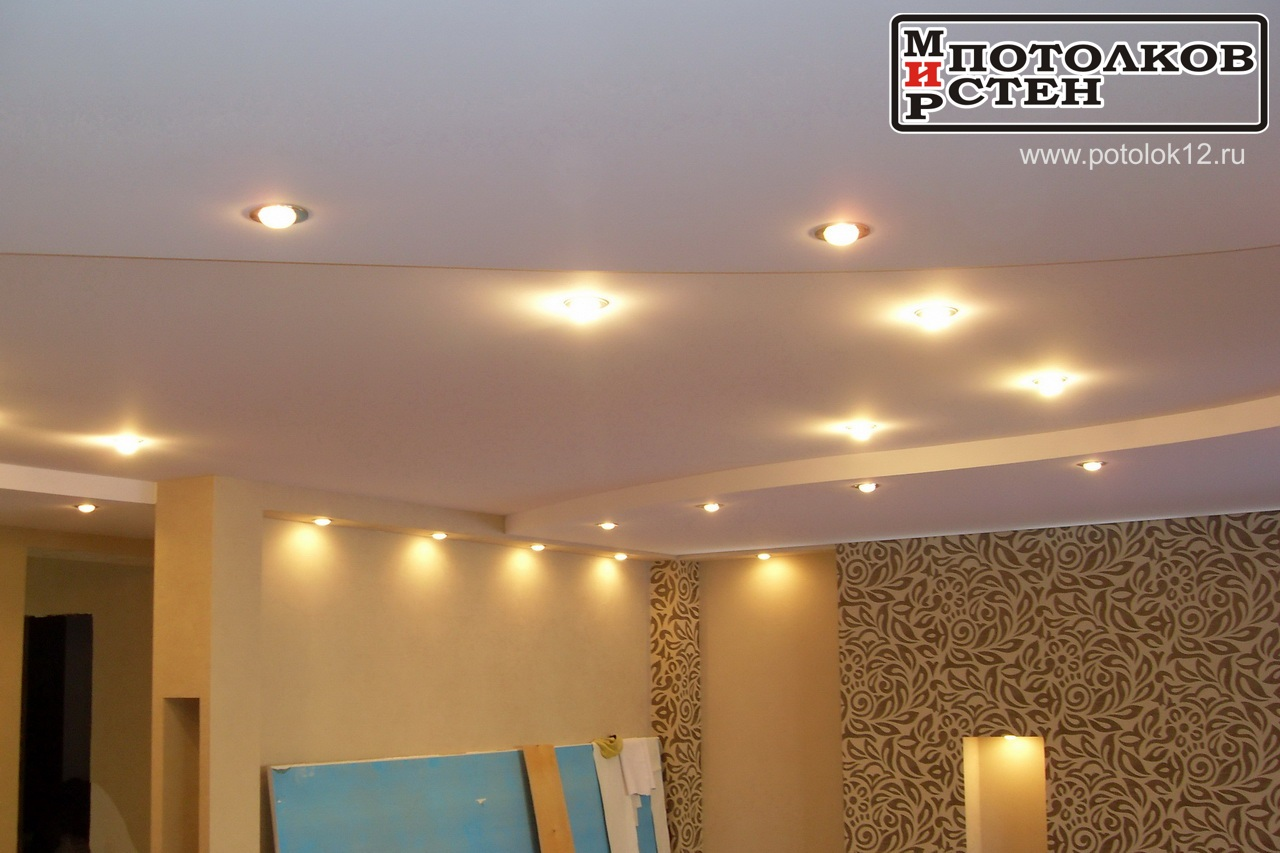 Подсветка потолка
