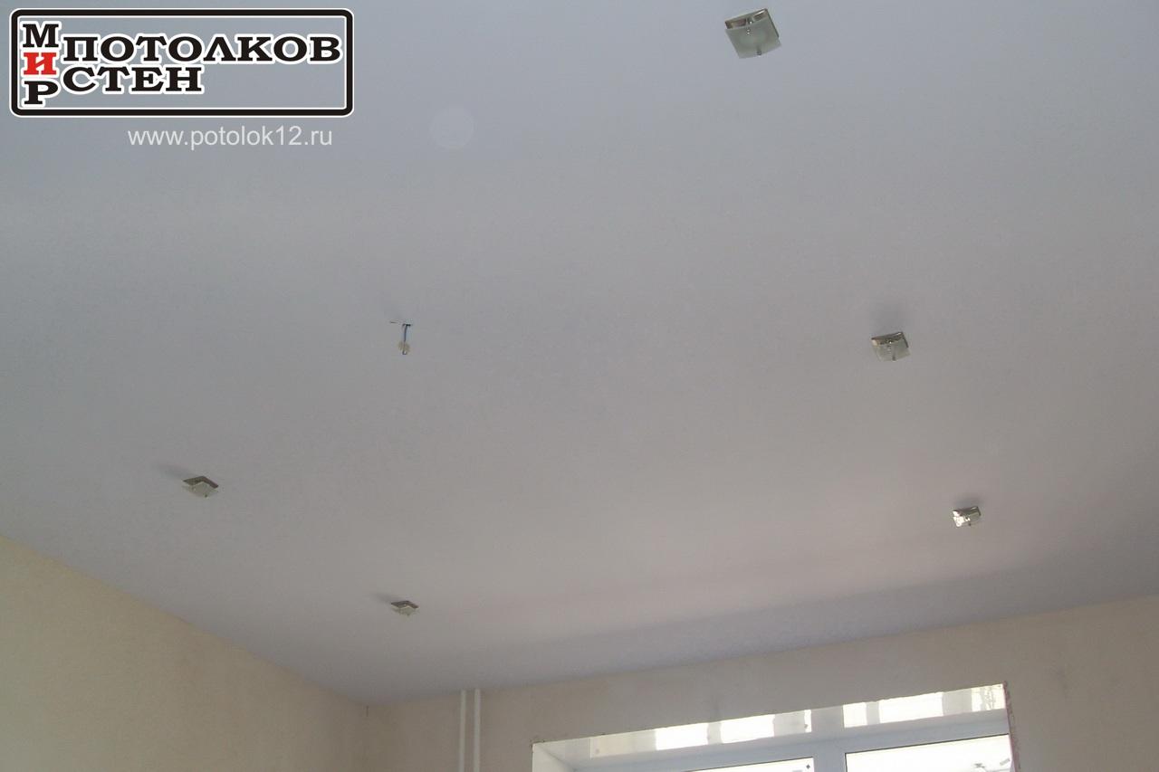 Тканевый бесшовный потолок