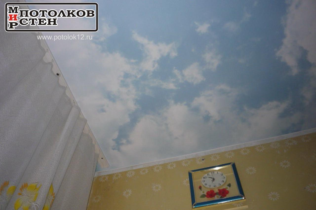 Фотопечать небо