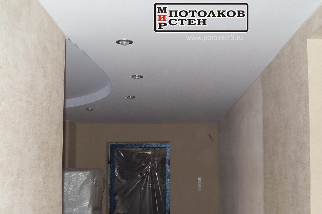 Натяжной многоуровневый потолок