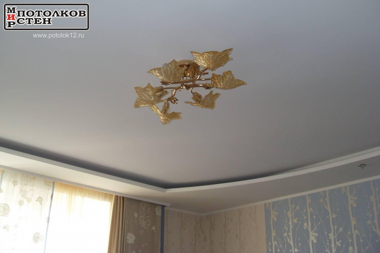 Натяжной потолок ниша